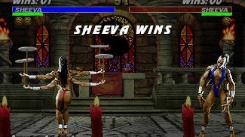 Mortal Kombat 3 - Friendship - Sheeva