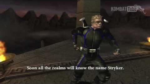MK-Armageddon Ending- Stryker