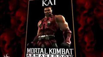 Mortal Kombat- Armageddon - Kai's Trading Kard (Bio)
