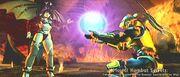 Nitara & Cyrax with the Portal Sphere