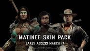 MK11 Matinee Skin Pack