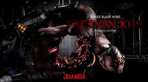 Mortal Kombat X Special Forces Faction Kills
