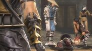Kung Lao defeated