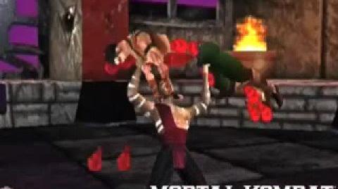 Mortal Kombat 4 Kai's Fatality 1
