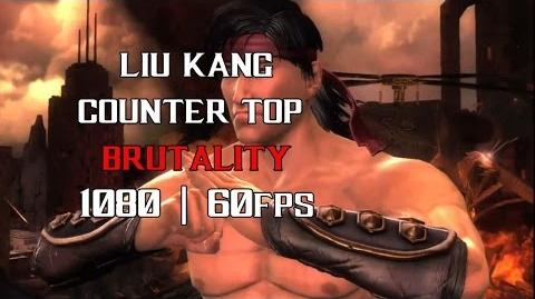 MKX liu kang counter top brutality 1080p 60fps ✔