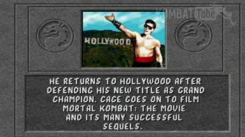 Johnny Cage/Videos