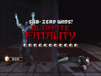 MKA Sub-Zero Ultimate Fatality
