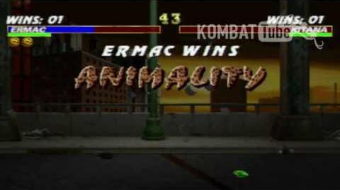 MK III Ermac Animality