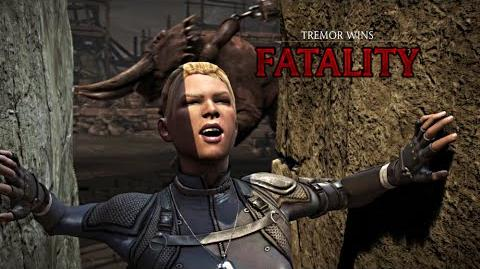 """MORTAL KOMBAT X · Tremor """"Stone Tomb"""" Fatality HD MKX"""