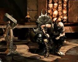 Master Quan Chi's Throne