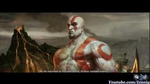 Mortal Kombat (2011) Kratos Ending