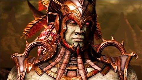 Mortal Kombat X - Kotal Kahn All Interaction Dialogues