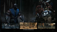 MK X Sub-Zero Select Screen