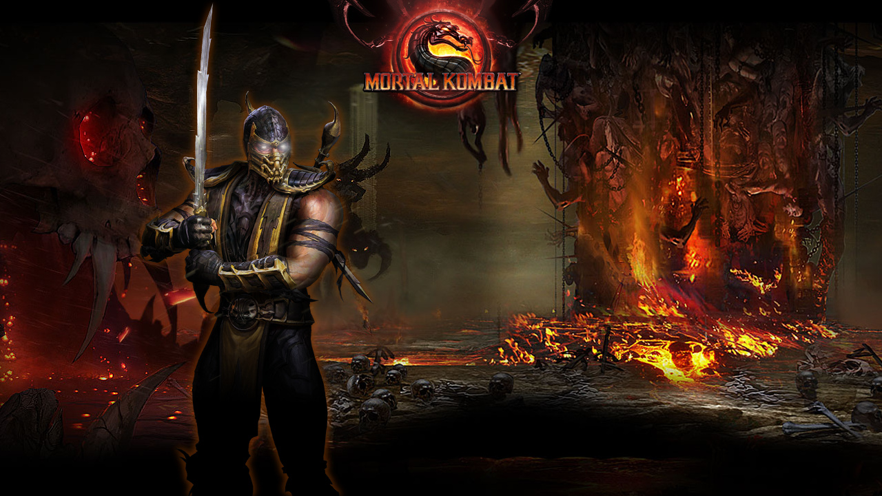 image - mk9 scorpion wallpapersakis25-d34iwj9 | mortal