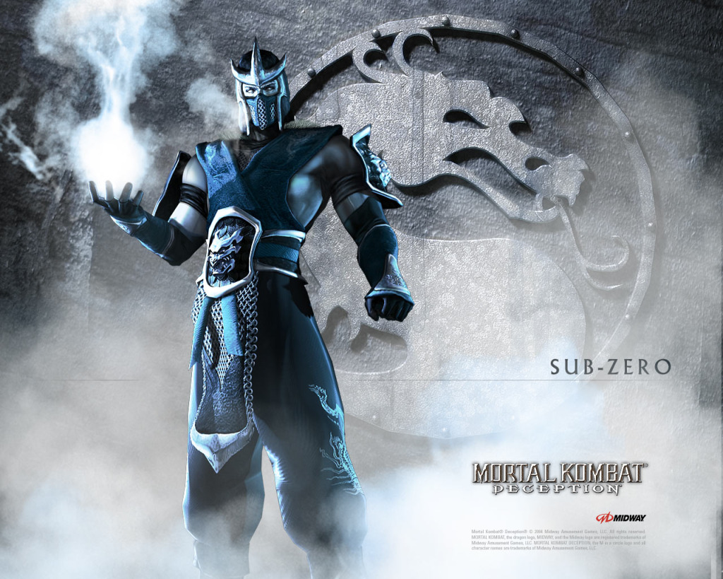 Mortal Kombat Deception Sub Zero Wallpaper