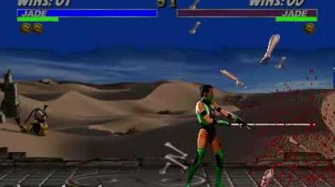 Ultimate Mortal Kombat 3 - Fatality 1 - Jade