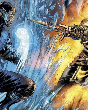 Mortal Kombat X Comic Series Mortal Kombat Wiki Fandom