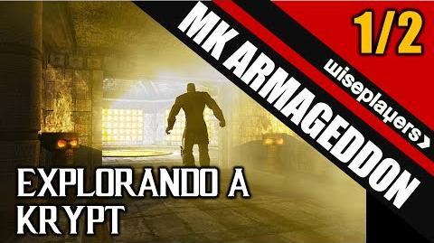 1 2 Explorando a Krypt - Mortal Kombat Armageddon