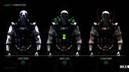 All Quan Chi Variations