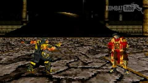 """GBA MK TE Scorpion """"Spear"""" Fatality"""