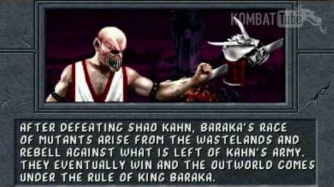 MK II Ending- BARAKA