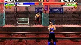 Mortal Kombat Trilogy - Nintendo 64 - Stage Fatality - Subway
