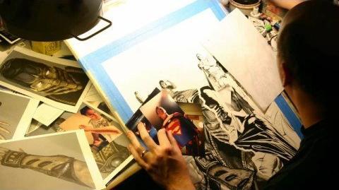 Alex Ross Mortal Kombat vs DC Universe Kollector's Edition