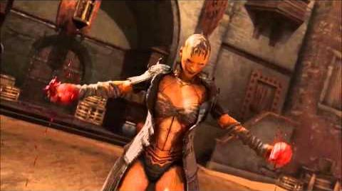 Baraka death in Mortal Kombat X