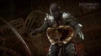 "MK 11 Erron Black ""Death Trap"" Fatality"