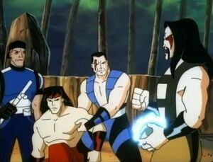 MK Heroes vs. Shang Tsung