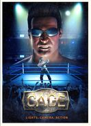 WWE Immortals Game Cage poster