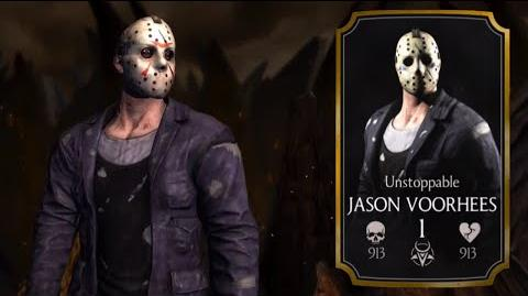 ★ Unstoppable JASON VOORHEES Specials X Ray ★ - Mortal Kombat X - iOS, Android