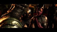Mileena and reptile