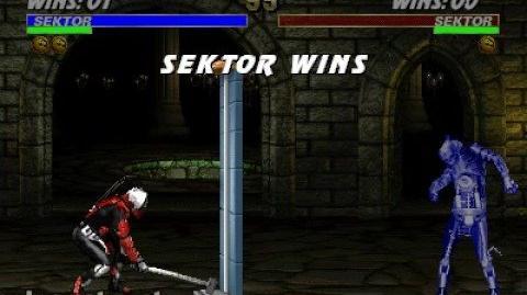 Mortal Kombat 3 - Friendship - Sektor