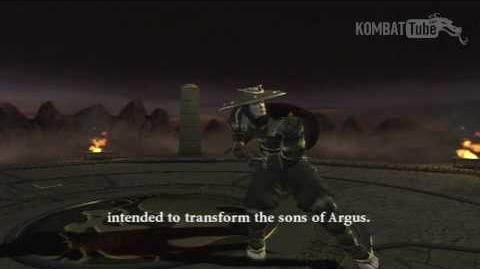 MK Armageddon Ending Raiden