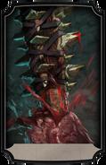 Sacrificialknife kotal post