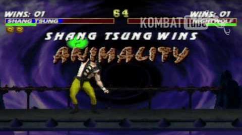 MK III Shang Tsung Animality