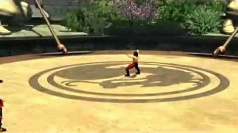 Mortal Kombat Armageddon Liu Kang's Kombat Card