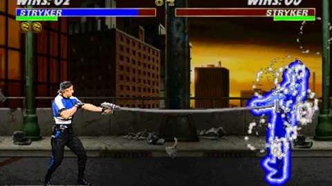 Mortal Kombat 3 & Ultimate Mortal Kombat 3 - Arcade - Stryker - Fatality 1