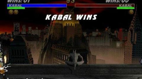 Mortal Kombat 3 - Fatality 1 - Kabal