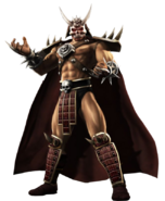 Shao kahn render by moonmanxo-d4qfmdg