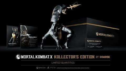 Mortal Kombat X Making The Kollector's Edition by Coarse