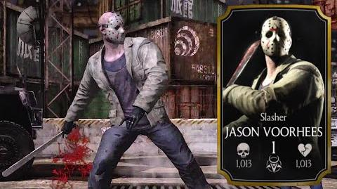 ★ Slasher JASON VOORHEES Specials X Ray ★ - Mortal Kombat X - iOS, Android