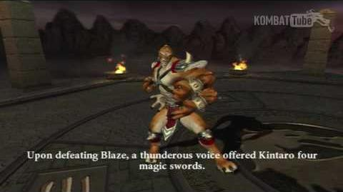 MK-Armageddon Ending- Kintaro