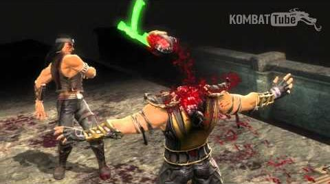 "MK9 Nightwolf ""Little Off The Top"" Fatality"