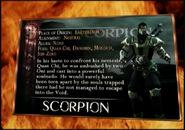 Scorpionkard