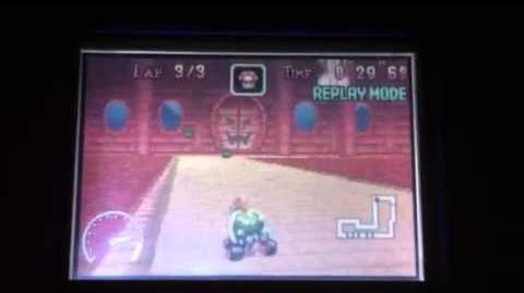 Gba Bowser Castle 1 Mario Kart World Records Wiki Fandom