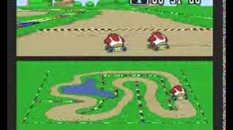 "Super Mario Kart WR 1'25""49 Donut Plains 2"