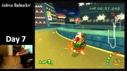 "MK Double Dash!! WR 1'33""997 Mushroom City"