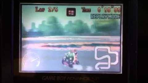 """MK Super Circuit WR 0'54""""90 SNES Mario Circuit 2"""
